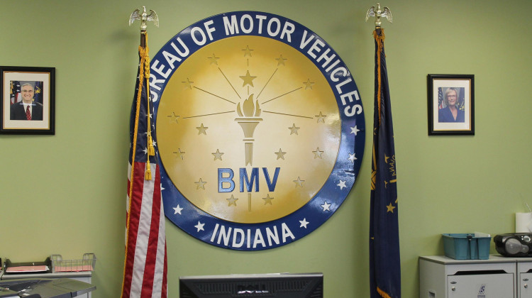 Bureau of Motor Vehicle locations across the state are starting to reopen to more in-person customers this week, with a goal to open all branches by Memorial Day.  - Lauren Chapman/IPB News