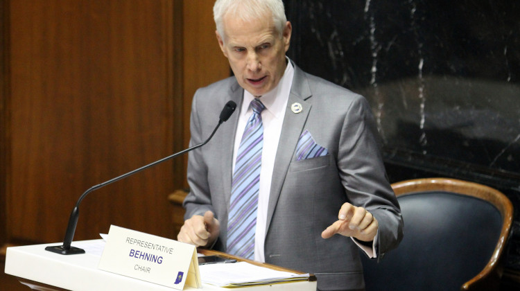 Rep. Bob Behning is the chairman of the House Education Committee.  - (Lauren Chapman/IPB News)