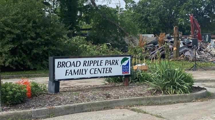 Broad Ripple Park Family Center Contruction