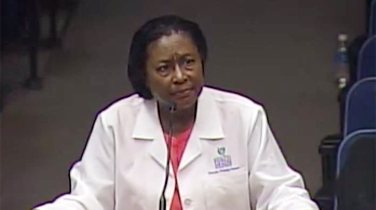 Marion County Public Health Director Virginia Caine - City of Indianapolis Telecom and Video Services Agency