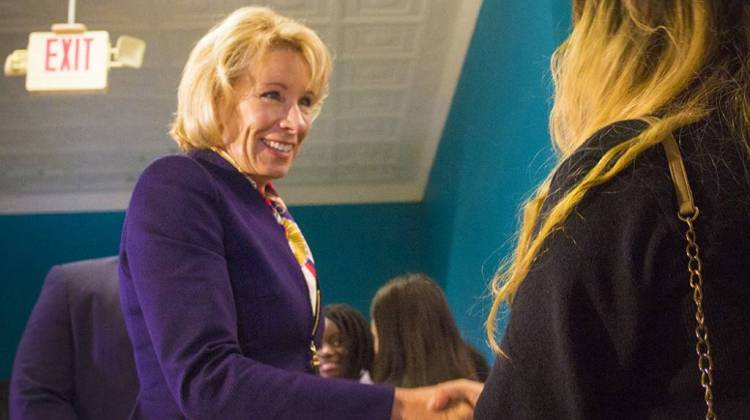 Betsy DeVos Signals Pullback On Campus Sex Misconduct Enforcement