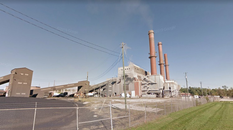 Switching from coal to natural gas at Indianapolis Power & Light's Eagle Valley Generating Station helped Morgan County to lower its sulfur dioxide emissions.  - Courtesy of Google Maps.