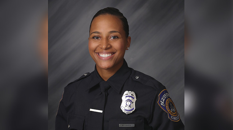 IMPD Officer Leath Honored One Year After Death