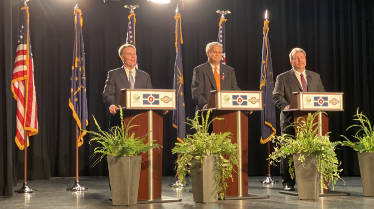 Mayoral Candidates Face Off On Crime, Roads In Final Debate