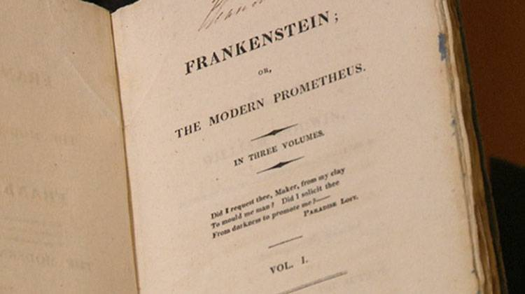 IUs Lilly Library Opens Frankenstein Exhibit Featuring First Edition