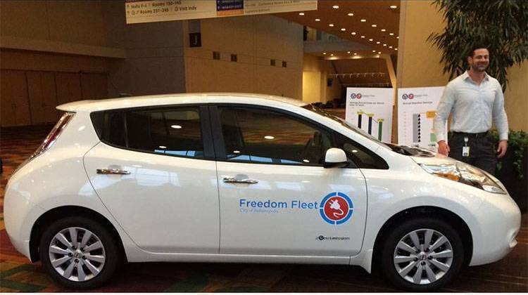 The Lone Bidder, Vision Fleet Wins Back Contract To Supply Electric Cars To Indy