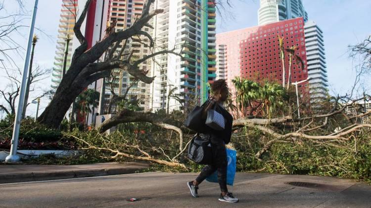 Irma weakens to tropical storm -NHC