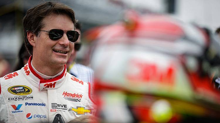 Gordon To Fill In For Earnhardt At The Brickyard