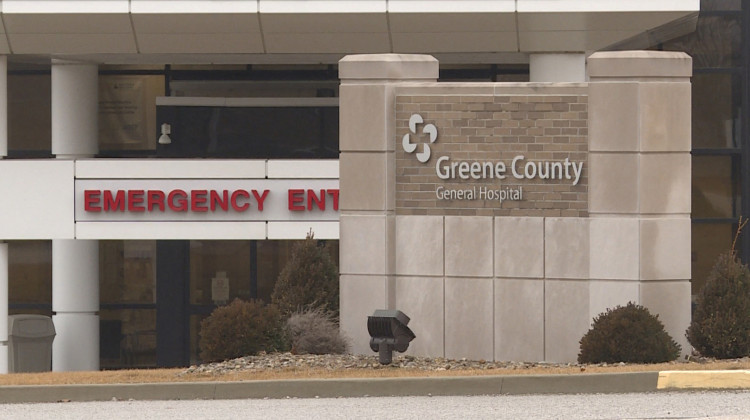 Greene County's General Hospital is preparing for an outbreak of cases amid a short supply of equipment. -  WFIU/WTIU News
