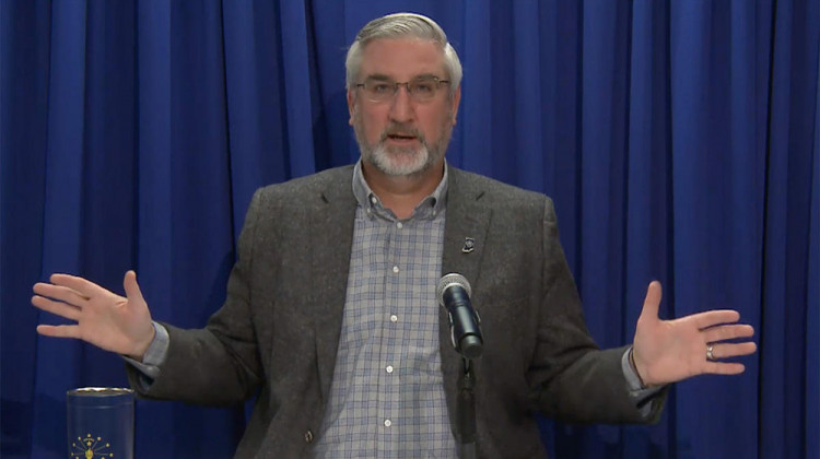 Holcomb Pushes Back On Restricting Governor's Emergency Powers