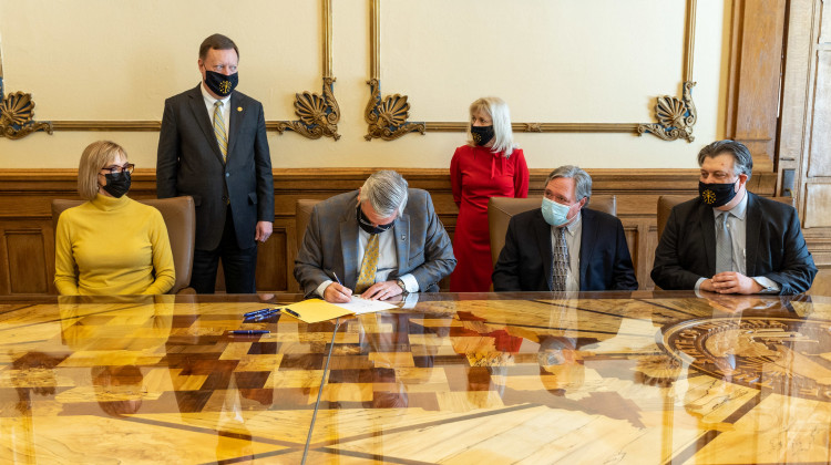 Governor Holcomb Signs COVID-19 Civil Liability Protections Bill Into Law