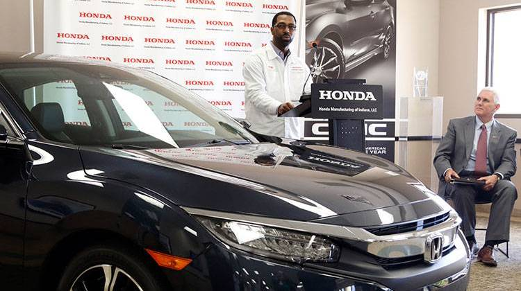 Honda Greensburg Indiana >> Honda Spending 52m For Suv Production At Indiana Plant