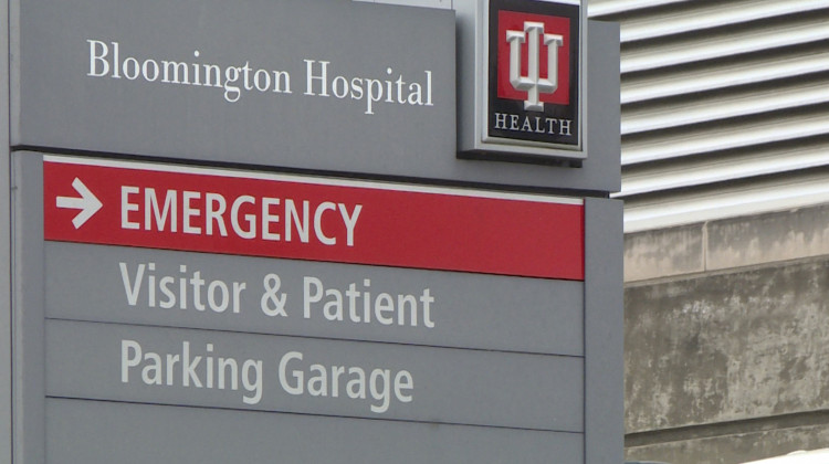 According to study, the IU Health system charged 23 percent more for the same procedure than other Indiana health systems.  - Tyler Lake, WTIU/WFIU News
