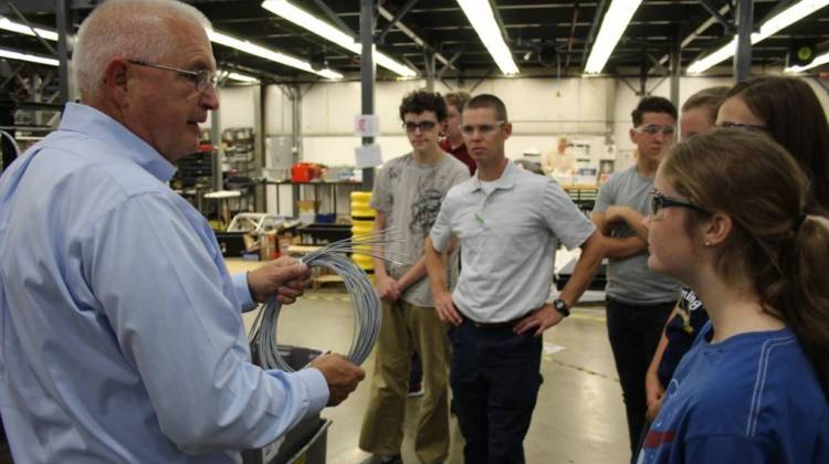 Manufacturers Hope Tours Will Draw High Schoolers To Industry Jobs