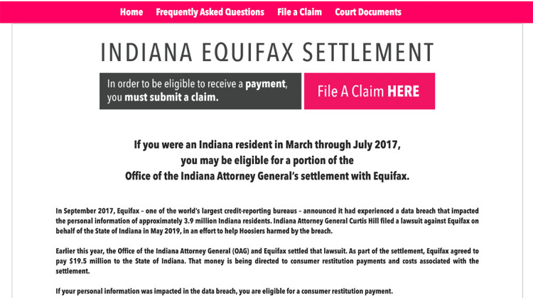 Hoosiers Have Until Dec. 16 To File Claim For Equifax Data Breach Settlement