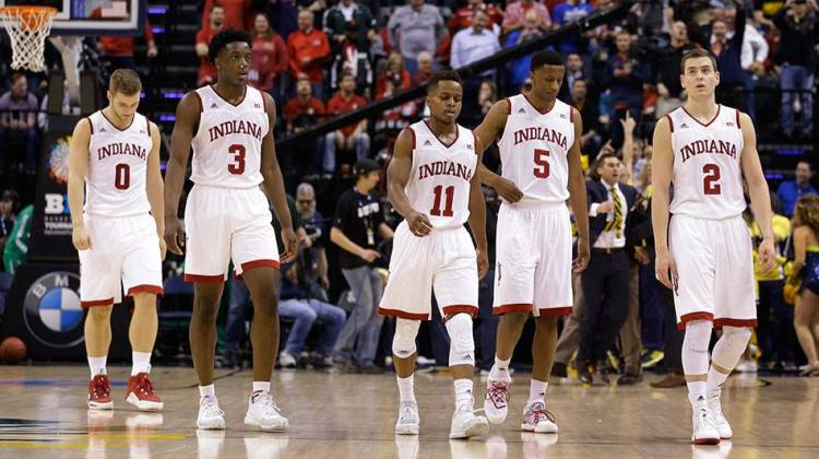 Big Ten Champ IU Upset By Michigan In Conference Tourney