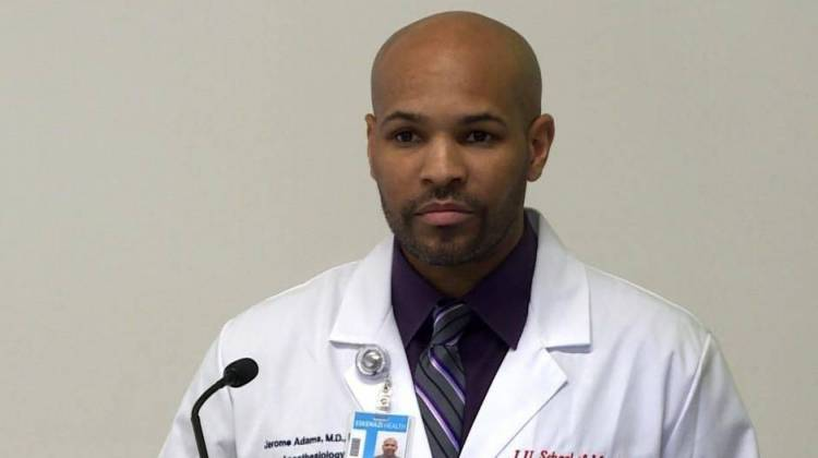 Jerome Adams Confirmed As Surgeon General With Bipartisan Support