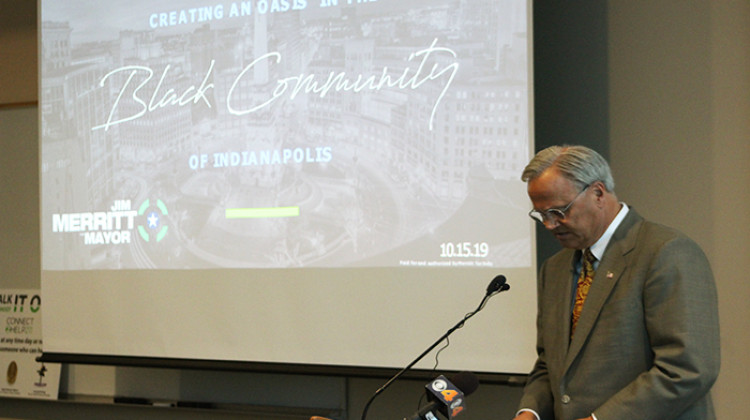 Merritt Outlines Plan To Address Education, Public Safety And Economic Deserts In Indianapolis