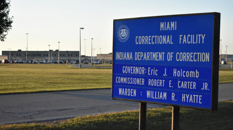 Violence Is A Growing Problem At Indiana's Miami Prison, Data Show