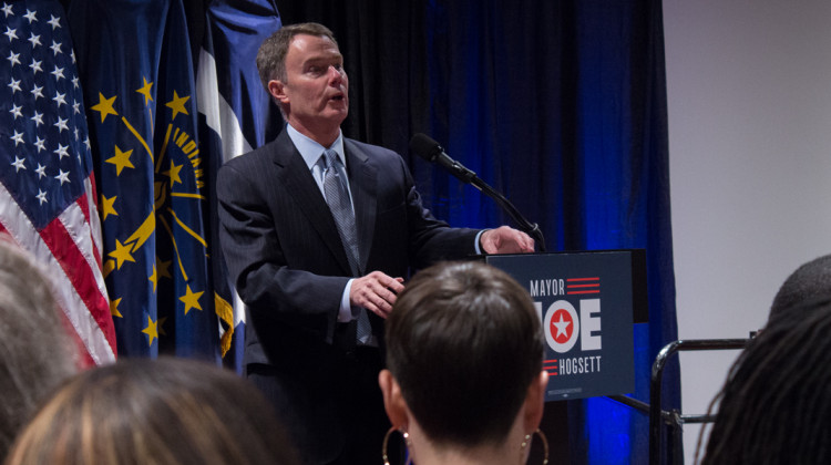 Indianapolis Mayor Joe Hogsett Announces Re-Election Bid