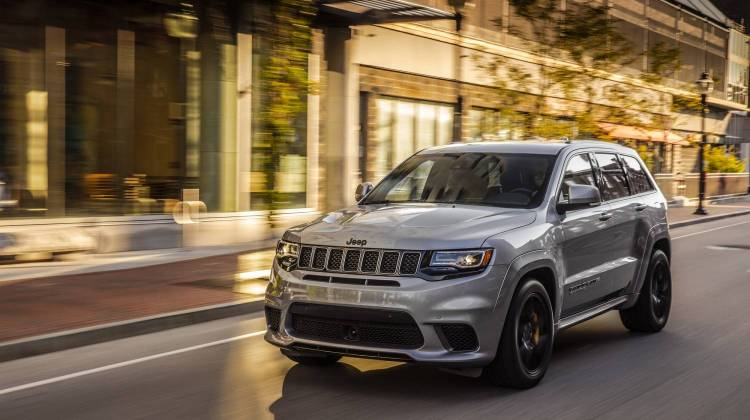 Jeep Grand Cherokee Trackhawk Will Wiggle Your Giggle