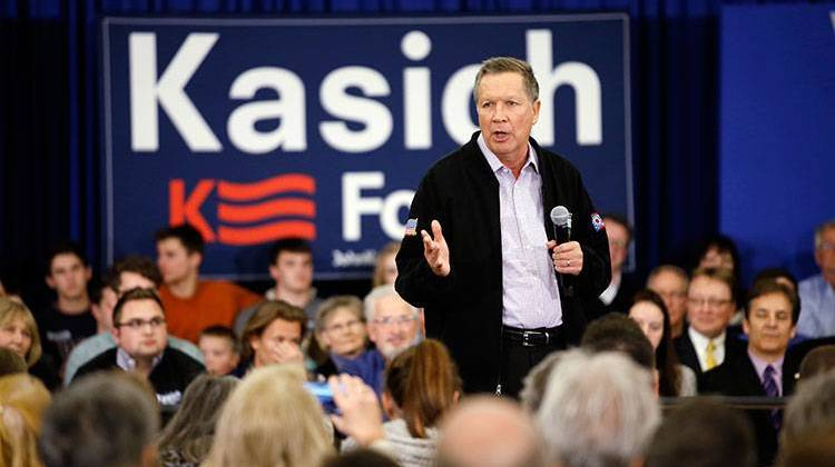 Sunday night, John  Kasich announced he's suspending his campaign in Indiana. - AP Photo/Morry Gash