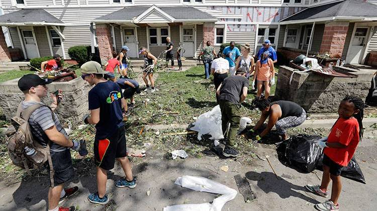 One Week Later, Tornado Clean-Up In Kokomo Happening Slowly