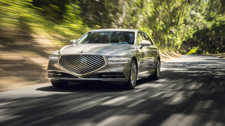 2021 Genesis G90 Chases The Classics In Auburn, Indiana