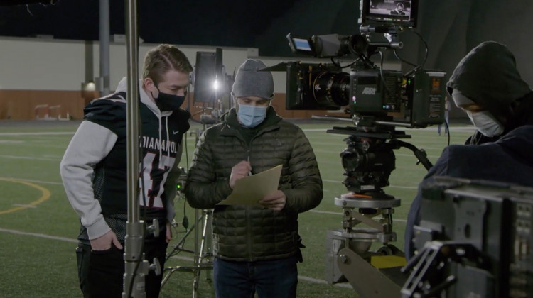 The Indiana Department of Health's Super Bowl commercial will feature Will Loggan, the son of an Indianapolis high school athletic director who died from COVID-19 last year. - Courtesy of IDOH