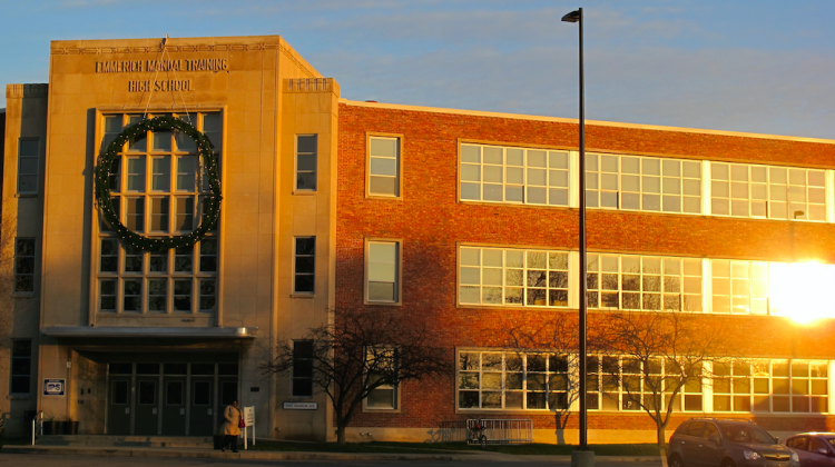 Manual High School has been operated by Charter Schools USA since the 2012-13 school year as part of a state intervention. - StateImpact Indiana