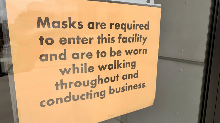 Legislative Leaders Say They'll Address Enforcement Of Mask-Wearing At Statehouse