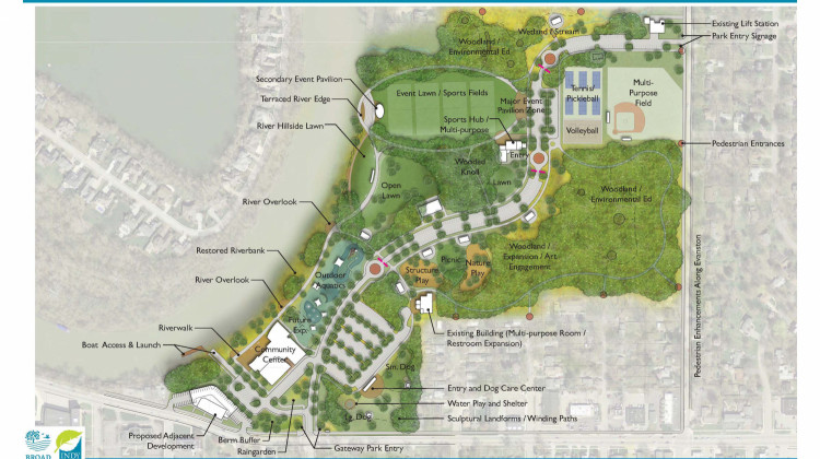 Indy Parks Board Approves Broad Ripple Park Master Plan