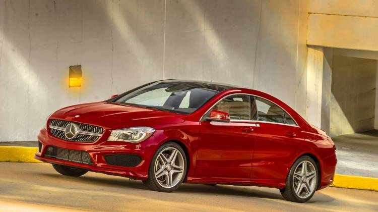 Mercedes benz cla250 inherits brand 39 s small car heritage for Mercedes benz compact car