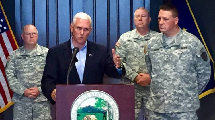Mike Pence Signs Order To Arm National Guard Members At Offices