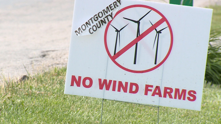 Several Indiana counties have placed restrictions on where wind farms can be located and some have outright banned them. - FILE PHOTO: Steve Burns/WTIU