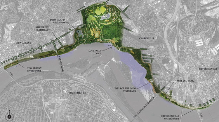 Nonprofit Proposes Plan For Innovative Park Along Ohio River