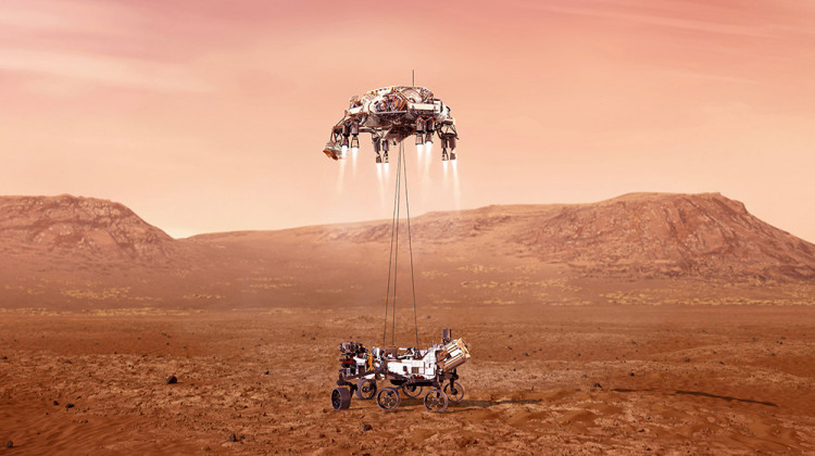 Indiana-Made Alloy Helped Mars Rover Nail Red Planet Landing