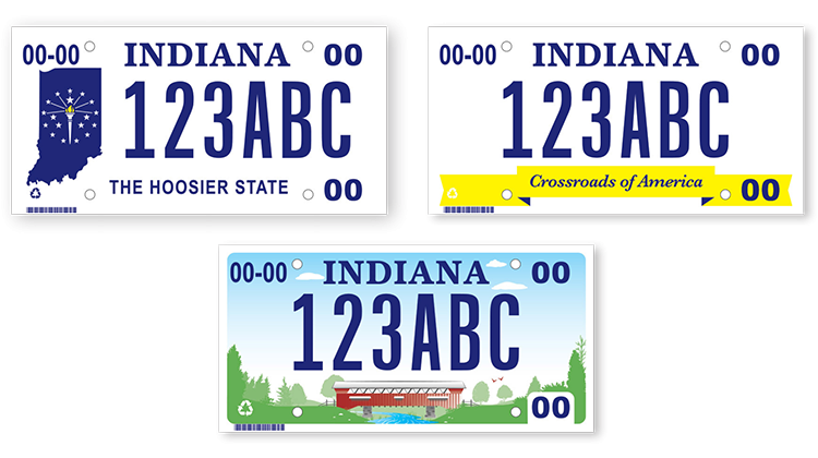 Bmv Asking Hoosiers To Vote For State S Next License Plate