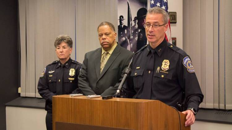 Indianapolis police chief in favor of firing two officers over fatal shooting