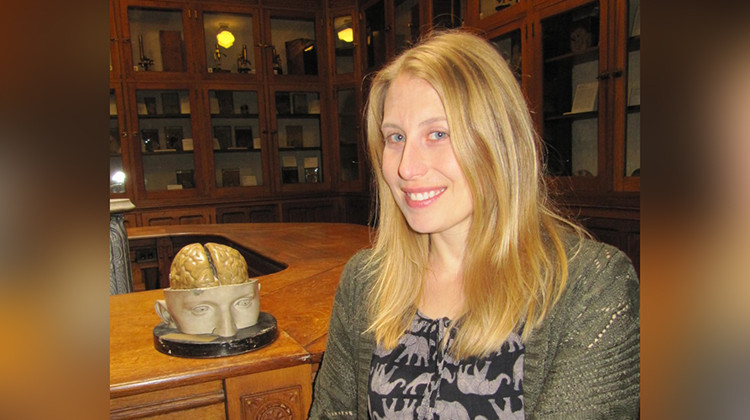 Sarah Halter is executive director of the Indiana Medical History Museum in Indianapolis. - Courtesy of Sarah Halter