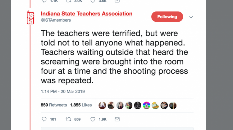 Terrified teachers shot 'execution-style' with pellets in drill, in union says