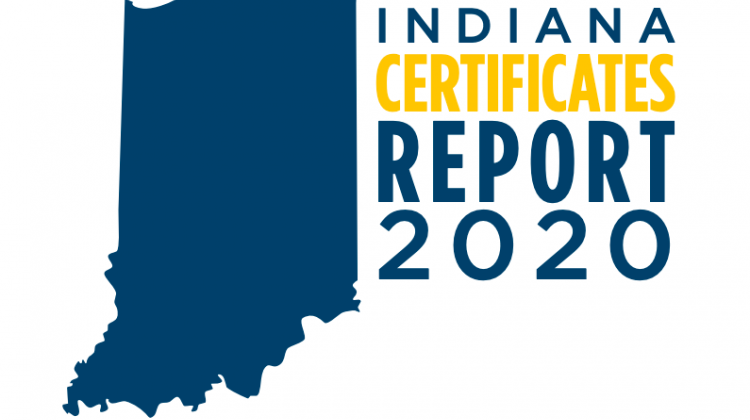 State Report Shows More Hoosiers Getting Job Training With Certificates