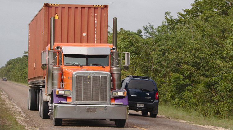 More Overweight Trucks Allowed On Indiana Highways Under Bill Headed To Governor