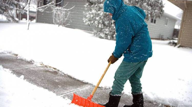 Indiana Department Of Health Urges Caution While Shoveling Snow