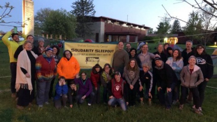 Shalom Community Center To Hold Second Annual Solidarity Sleepout Virtually