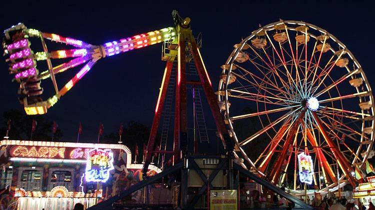 Indiana State Fair, Midway Operator Pull Fireball Ride After