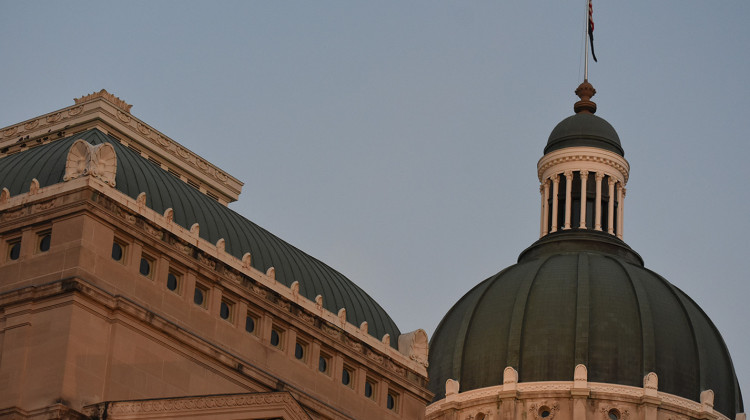 The Indiana Statehouse - Justin Hicks/IPB News