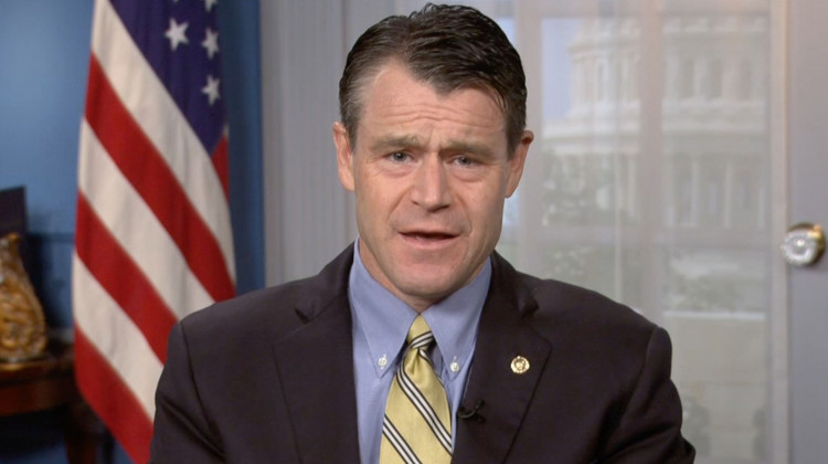 Sen. Todd Young Defends Vote On Stimulus Package