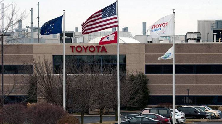 Toyota Adding 180 Jobs At Indiana Factory