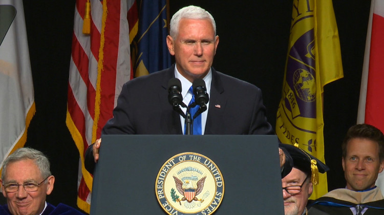 Pence Tells Taylor University Graduates To 'Stand Up' For Faith